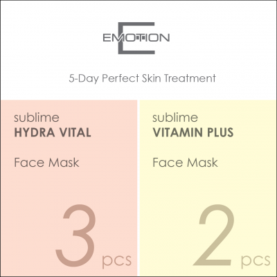 EMOTION 5-Day Perfect Skin Treatment x 2 Boxes